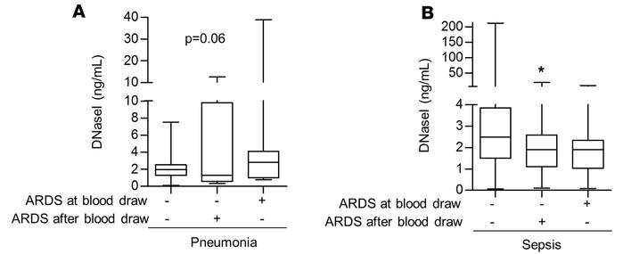 DNase I plasma levels are associated with ARDS development in patients w...